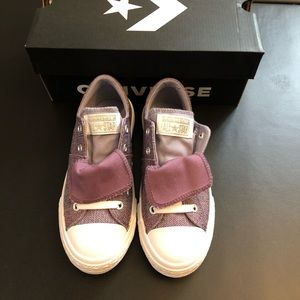 New Converse lace-less sneakers